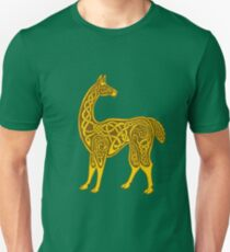 Celtic Llama Unisex T-Shirt