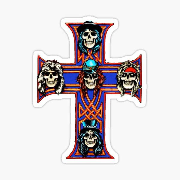 Lo mejor de Guns N Roses fondo de pantalla logo wilatikta Pegatina