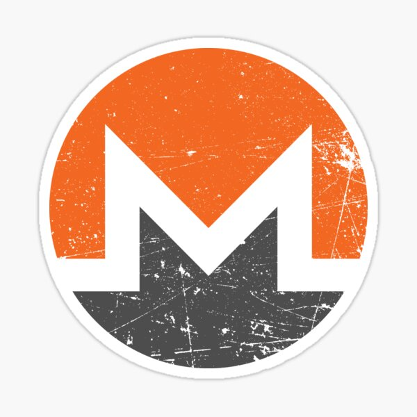 Monero - Vintage Sticker