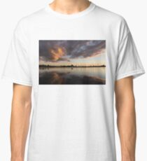 Reflecting on Boats and Clouds III Classic T-Shirt
