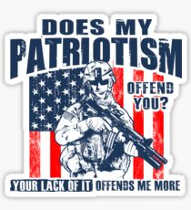 Pegatina Patriotismo