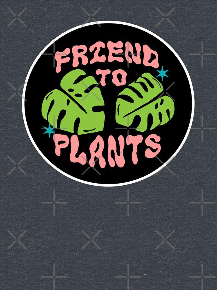 friend to plants | monstera leaf & stars by craftordiy