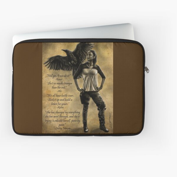 Raven Stay Strong 3 Laptop Sleeve
