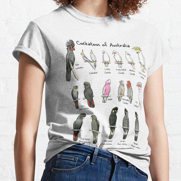 Cockatoos of Australia - Raising funds for Birdlife Australia Classic T-Shirt