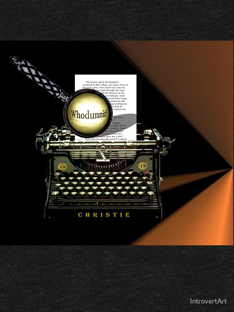 Agatha Christie kennt Whodunnit! von IntrovertArt