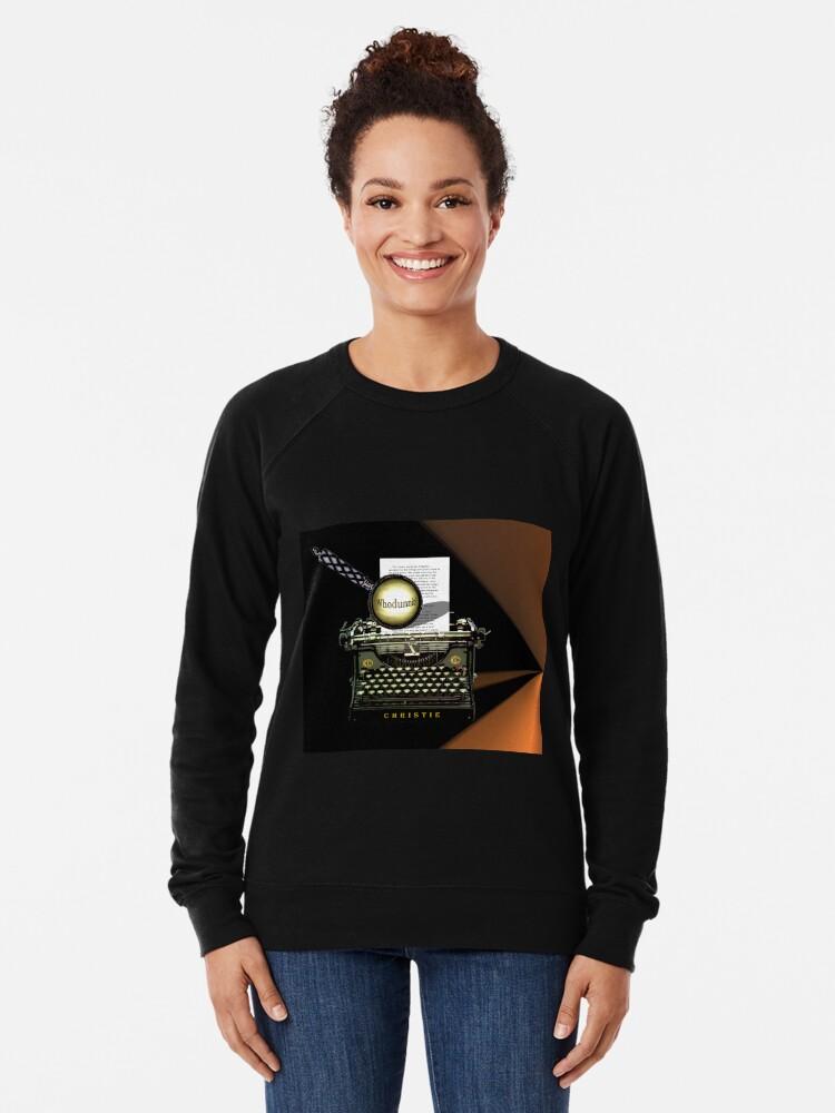 Alternative Ansicht von Agatha Christie kennt Whodunnit! Leichter Pullover