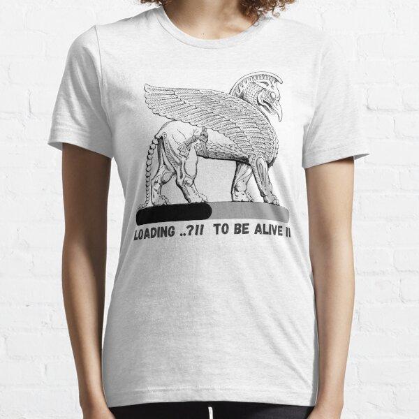 Assyrian Griffin Lamassu Winged Lamas Persia - Lamas Mythical Bird - Funny Bird Essential T-Shirt
