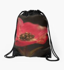 Red Dogwood Drawstring Bag