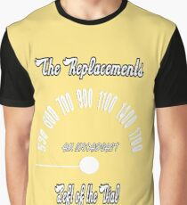 The Replacements: Left of the Dial Graphic T-Shirt