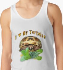 I love my tortoise Tank Top