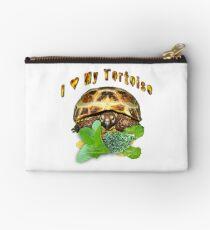 I love my tortoise Studio Pouch