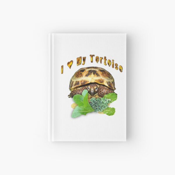 I love my tortoise Hardcover Journal