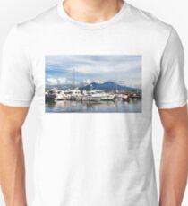 Vesuvius and Naples Harbor - Mediterranean Impressions Unisex T-Shirt