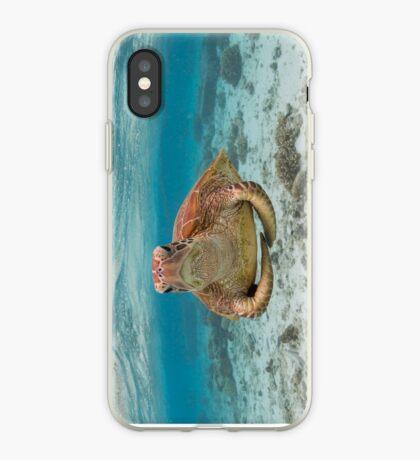 Turtle yoga - horizontal iPhone Case