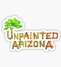 Would you shop at a store called Unpainted Huffheins? (Raising Arizona) Sticker
