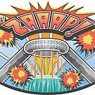 Pop Comic Series: Hart Plaza by Elena Maria