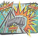 Pop Comic Series: Joe Louis Power Punch by Elena Maria