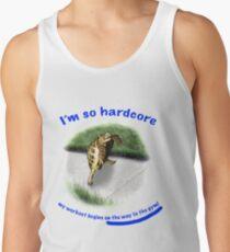 Tortoise - hardcore workout Tank Top