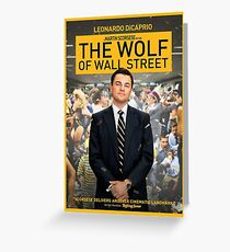 The wolf of wall street greeting cards redbubble the wolf of wall street greeting card m4hsunfo