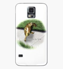 Tortoise - Running on time Case/Skin for Samsung Galaxy