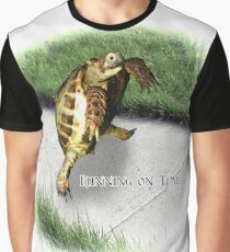 Tortoise - Running on time Graphic T-Shirt