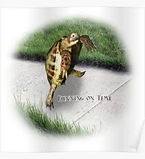 Tortoise - Running on time Poster