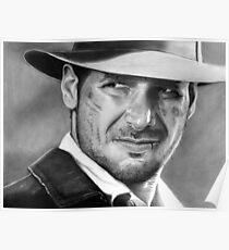 Indiana Jones - Harrison Ford Poster