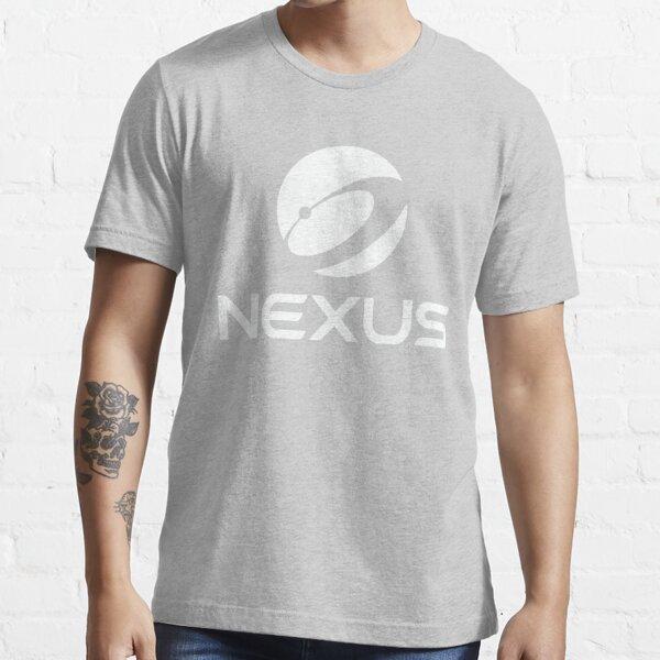 Nexus Official Globe White Essential T-Shirt