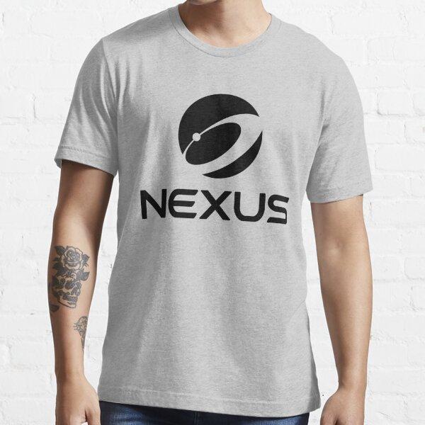 Nexus Official Globe Black Essential T-Shirt
