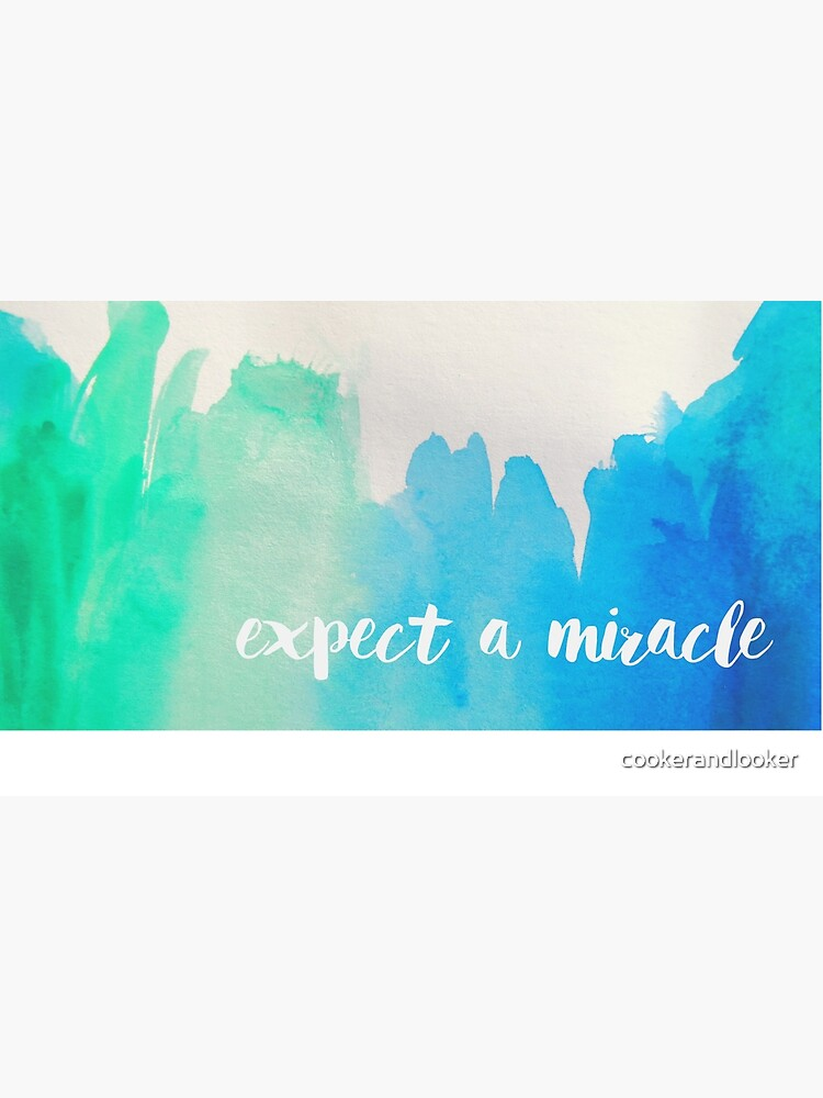 expect a miracle mug by cookerandlooker