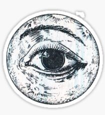 Moon Eye Sticker