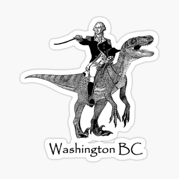Washington, BC Sticker