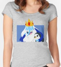 Ice King and Gunter Women's Fitted Scoop T-Shirt