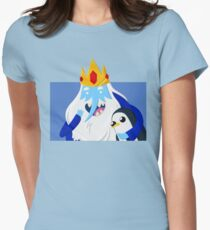 Ice King and Gunter Womens Fitted T-Shirt