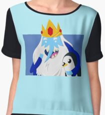 Ice King and Gunter Women's Chiffon Top
