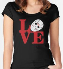 LOVE Friday the 13th Women's Fitted Scoop T-Shirt