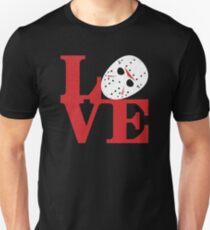 LOVE Friday the 13th Unisex T-Shirt
