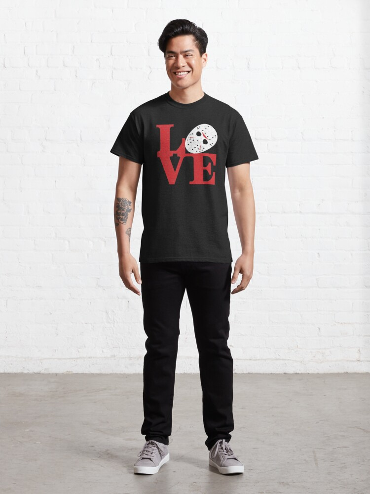 Alternate view of LOVE Friday the 13th Classic T-Shirt