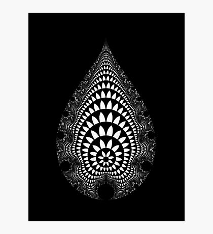 Inverted Mandelbrot V v2 Photographic Print