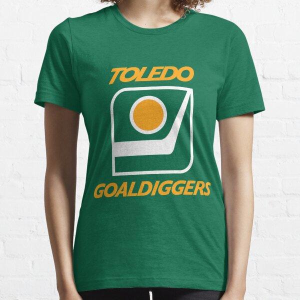 DEFUNCT - Toledo Goaldiggers IHL T-Shirt Hockey T-Shirt Essential T-Shirt
