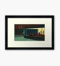 Night Gilmores Framed Print