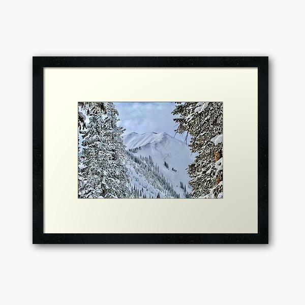 Highlands Bowl Framed Art Print