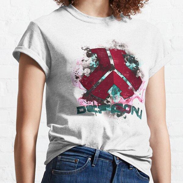 DJ Defqon 1 Festival Hardstyle T-shirt classique