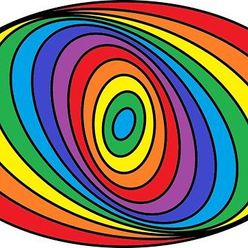 Spiral Rainbow by chloemease