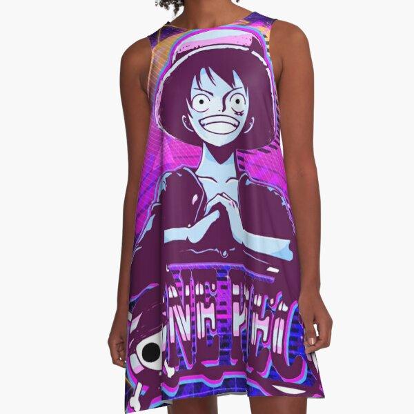 cute pirate - anime peeker A-Line Dress
