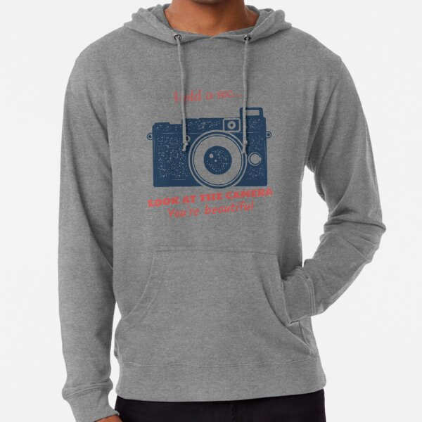 Smile at the Camera Lightweight Hoodie
