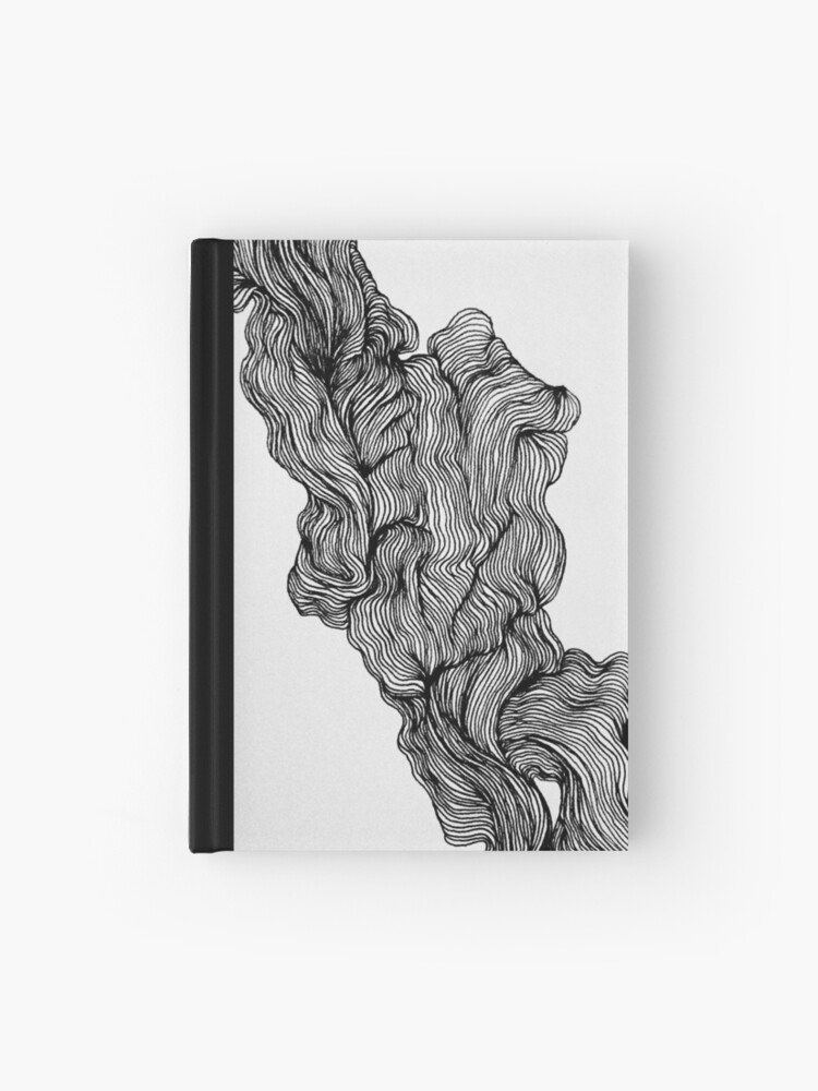 Micron pen drawing 2 | Hardcover Journal