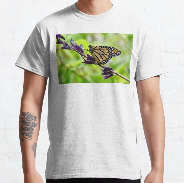 Butterfly Resting on a Branch Classic T-Shirt