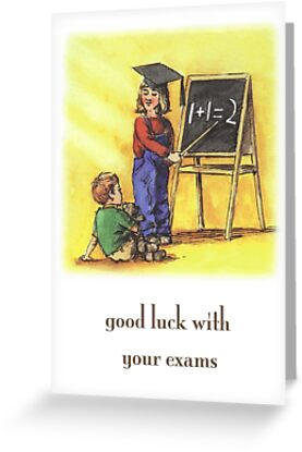 Good Luck With Your Exams by wonder-webb