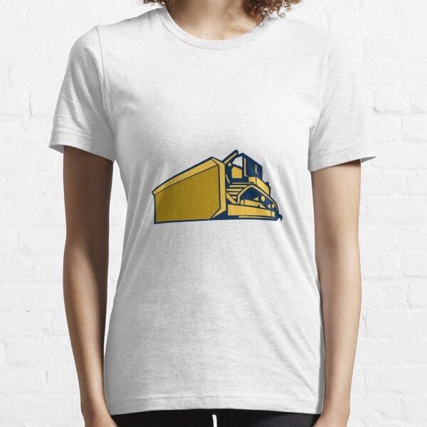 Bulldozer Low Angle Retro Essential T-Shirt
